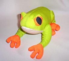 Mini Frog Pillow